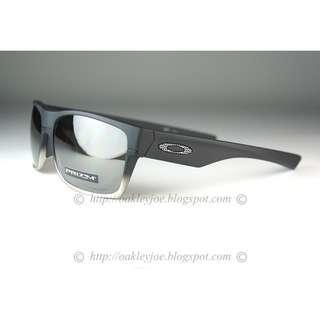 a3a6196b8c63e BNIB Oakley Twoface Asian Fit matte black + prizm black oo9256-1360  sunglass shades