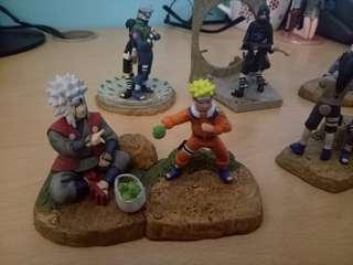 Naruto rare figures
