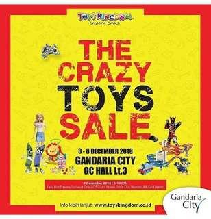 Open Jastip Crazysale toys kingdom