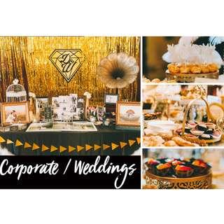 Corporate / Wedding Package (Pastries for Dessert Tables)