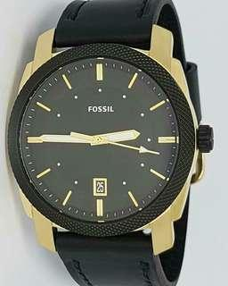 US Bought Authentic Original Fossil FS5263 Machine Black Dial Men's Watch