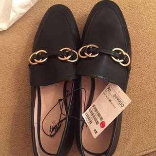 H&M shoes size 38 black. New