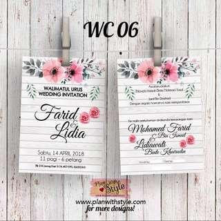 Wedding Card WC06