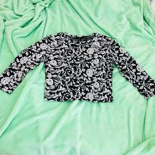 Croptop sweater