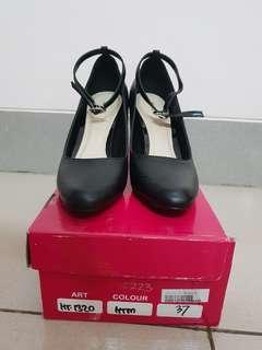 XML Black Strap Shoes
