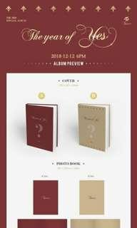 [Ready Stock]Twice The year of Yes album