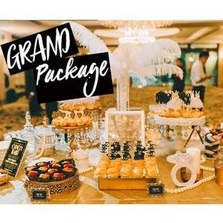 GRAND PACKAGE (Pastries for Dessert Tables)