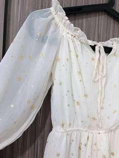 Starlight White Romper