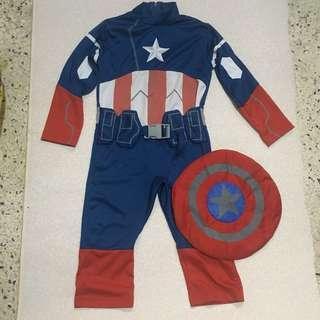 Marvel's Captain America Kids Costume