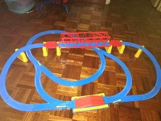 Thomas train tracks and bridge.