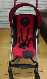 Preloved Chicco Liteway Stroller free Pads