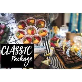 CLASSIC PACKAGE (Pastries for Dessert Tables)
