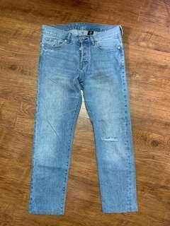 H&M Denim Ripped Jeans