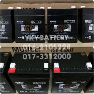 Sealed Lead Acid Battery (SLA) 12V 4.5AH