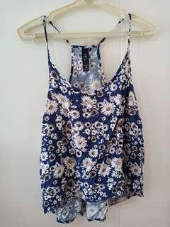 Factorie Floral Sleeveless Top