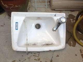Child size basin