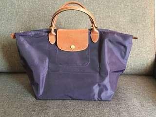 Authentic Longchamp Short Handle Tote Bag