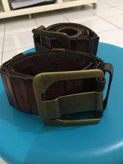 Leather Stretchable Low Waist Belt