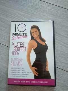 10 minutes solution Pilates Perfect Body dvd