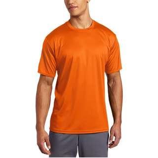 🇺🇸🆕ASICS Men's Circuit Warm-Up Shirt Orange
