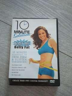 10 minutes solution Blast off belly fat dvd