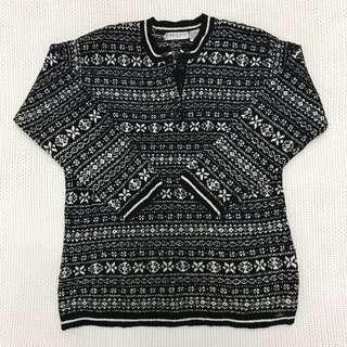 Knitted Wool Sweatshirt