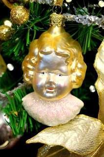 呆萌小公子聖誕吊飾