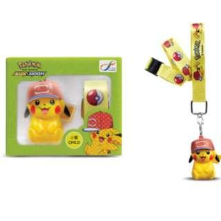 全新 綠色 小童版 八達通 皮卡丘 比加超 寵物小精靈 精靈寶可夢 3D 八達通 配飾 Pokemon Pokémon Octopus Ornament Pikachu Child version 1 個