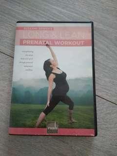 Suzanne Bowen's long & lean Prenatal workout dvd