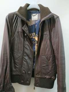 Ted baker leather jacket, 80%new