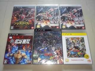 PS3 遊戲 假面騎士 真高達無雙 真北斗無雙 gvgfb