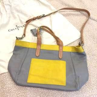SALE! Authentic Cole Haan Three Tone Tote Bag