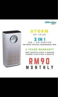 Air purifier Coway (STORM) new model