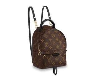 Brand New Louis Vuitton Mini Palm Springs Backpack