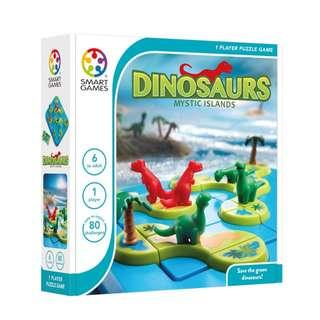 🚚 SmartGames: Dinosaurs – Mystic Islands (Perfect Xmas Gifts for Kids / Family!)