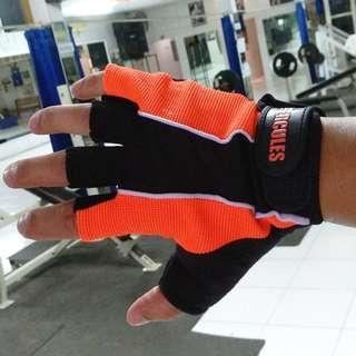 Sarung Tangan Hercules Gym Fitness Gloves New Edition BNIB