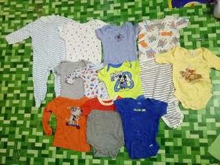 Preloved clothes for baby boy!