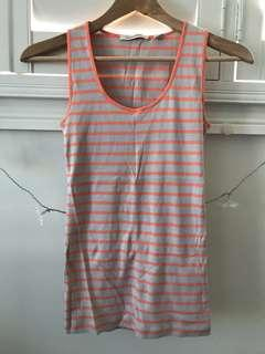 COUNTRY ROAD striped tank top