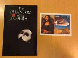The phantom of the opera 名信片