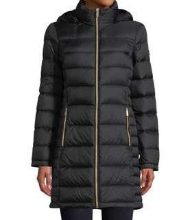 Michael Kors Hooded Down Jacket Medium