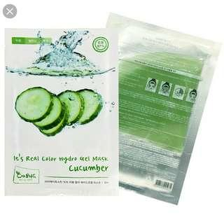 It's REAL Hydrogel Cucumber Mask