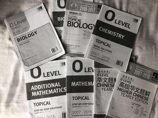 O Level TYS Answer Sheets