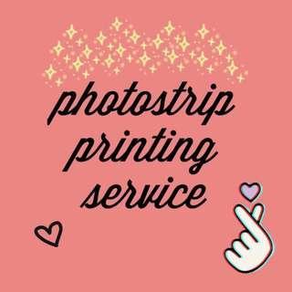 customized photostrip printing~