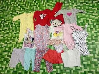 Preloved clothes for baby girl!