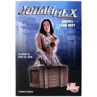 (Clearance Sale) (Limited Edition 1000 pieces) MISB DC Direct Megan Fox Lilah Bust Jonah Hex movie DC comics by John St. Jean Marvel statue