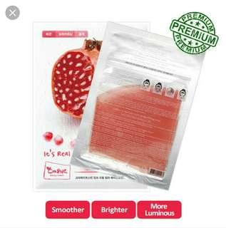 It's REAL Pomegranate Hydrogel Mask