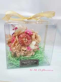 🚚 乾燥花 繡球花 吊飾 居家裝飾 交換禮物