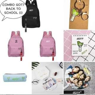 SPECIAL PREORDER - COMBO GOT7 BACK TO SCHOOL EXC.POS