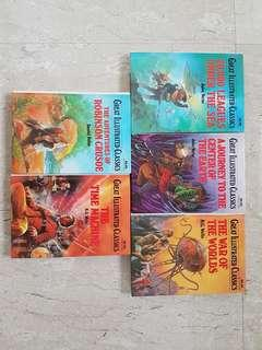 THE GREAT ILLUSTRATED CLASSICS