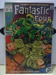 🚚 Fantastic Four Vol. 1 #85 - 1st appearance of the Invisible Robots